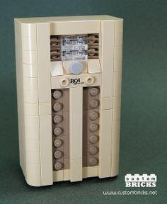 LEGO 1938 RCA Victory Console Radio