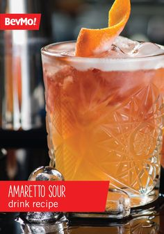 You'll want to make a large batch of this Amaretto Sour Drink recipe before your spring party because you can be sure that guests won't be able to get enough of the sweet almond, lemon, and cherry flavor combination. Garnished with a maraschino, this refreshing cocktail has a stunning presentation worthy of outdoor entertaining.