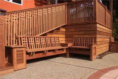 craftsman outdoor deck - Google Search