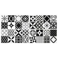 Smart Tiles Vintage Bilbao 9 in. W x 9 in. H Peel and Stick Decorative  Mosaic Wall Tile Backsplash (6-Pack)