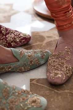 Sabyasachi Spring Couture The Udaipur Collection. Jewellery by Kishandas For Sabyasachi. Photograph by Tarun Khiwal. Wedding Wear, Wedding Shoes, 2017 Wedding, Wedding Outfits, Bridal Shoes, Wedding Reception, Indian Shoes, Groom Shoes, Spring Couture
