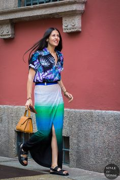 Gilda Ambrosio Street Style by STYLE DU MONDE  - Missoni http://fancytemplestore.com