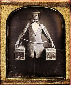 Daguerreotype, Photography,  occupational, peddler