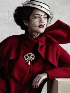 Marion Cotillard wearing Dior in 'Dior Bombshells' video campaign.