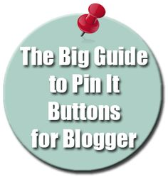 From Code It Pretty - a list of options for coding Pin It buttons into your blog posts, including links to details instructions
