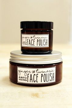 This foaming ginger & turmeric face polish recipe is wonderful for maturing skin and is crafted with a blend of natural carrier & essential oils prized for their antioxidant and anti-aging properties. Anti Aging Tips, Best Anti Aging, Anti Aging Cream, Anti Aging Skin Care, Face Scrub Homemade, Homemade Skin Care, Homemade Beauty, Organic Skin Care, Natural Skin Care