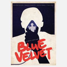 Blue Velvet 11.7x16.5 now featured on Fab.