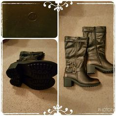 Brand new boots!! Brand new without tags Maurice bootz... they have never been worn only tried on...I was desperate for a pair that I bought a half size up and they are to big and long.... NEED A STYLISH FOREVER HOME!!! Maurice  Shoes Combat & Moto Boots
