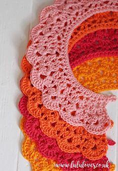 Crochet Collars Free Pattern | Lululoves Blog