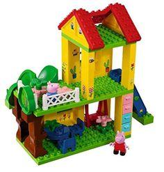 Lego Duplo kompatibel - BIG 57076 - Playbig Bloxx Peppa Pig Spielplatz