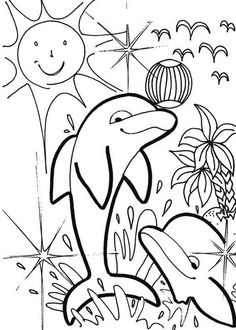 Dolphin Summer Beach Party Coloring Page : Kids Play Color Dolphin Coloring Pages, Coloring Pages For Kids, Summer Beach Party, Summer Parties, Online Coloring, Coloring Sheets, Dolphins, Kids Playing, Wallpaper