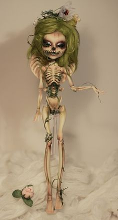 custom ooak skelita monster high | Flickr - Photo Sharing!