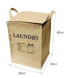 PLASTIC  Storage Basket  Laundry Basket / Bag by MyLittleGreenShop, $25.99