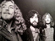 Robert Plant - Jimmy Page - John Paul Jones