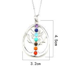 Find your focus with our 7 Chakra Stones Reiki Healing Necklace! This necklace will get you back to your spiritually, emotionally, mentally and physically healt Red Agate, Girls Rules, Red Jasper, Chakra Stones, Geek Girls, Love To Shop, Pandora Jewelry, Bracelet Making, Girly Things
