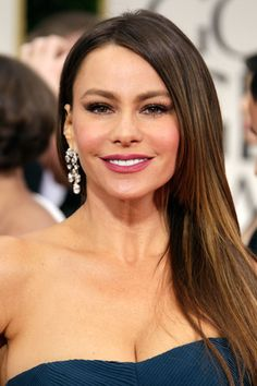 Get the Look: Sofia Vergara at the 2012 Golden Globes