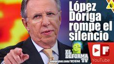 López Dóriga rompe el silencio