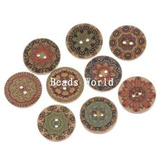 Cheap jewelry present, Buy Quality jewelry artist directly from China jewelry eternity Suppliers:  100 Pcs Wood Sewing Decorative Buttons Scrapbooking Vintage Pattern 20mmProducts Details Material:Wood  Size: