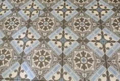 #Moroccan Look Tiles Sydney. Artisan #Vintage range of ceramic floor tiles from Spain.  On display at our #Sydney tile showroom.