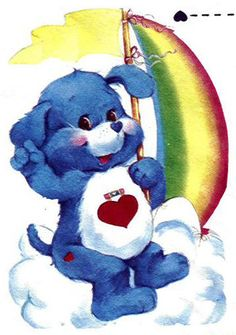 Care bear Cousin - Loyal Heart Dog