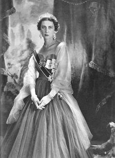 Princess Marina, Duchess of Kent. She was a daughter of Prince Nicholas of Greece and Grand Duchess Elena Vladimirovna of Russia.