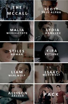 teen wolf, lydia, and stiles afbeelding
