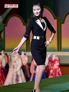 costume reference Jo Bin - North Korean fashion show Inside North Korea, Life In North Korea, South Korean Women, Military First, Cult Of Personality, Workers Party, Human Rights Issues, Korean Peninsula, Korea Fashion