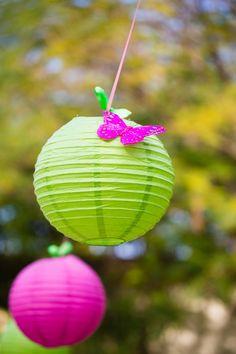 Butterfly Garden themed birthday party Full of Really Cute Ideas via Kara's Party Ideas Kara Allen KarasPartyIdeas.com #ButterflyParty #GirlyParty #PinkMiniCakes #PartyIdeas #Supplies (27)