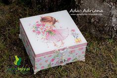 decoupage, szkatułka, pudełko