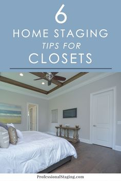 6 Home Staging Tips for Closets - Home Selling - Home Selling Tips - - Storage is one of the top things on home buyers' want lists when they go house hunting. Make sure your closets impress with these 6 easy home staging tips! Sell Your House Fast, Selling Your House, Selling House Tips Cleaning, Unique Home Decor, Cheap Home Decor, Home Staging Tips, Home Hacks, Home Buying, Decorating Your Home