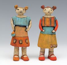 ceramic figure by Sara Swink
