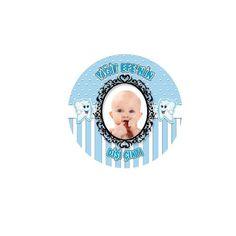 Diş Buğdayı Erkek Kişiye Özel Sticker 48-li