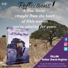 """A four-book series will be coming your way beginning in November 2019 (one book per month). The first self-published title I ever released, will get some new content and this lovely new cover, and become the forerunner of biblical fictionalizations one reviewer says should be """"required reading for CCD classes."""" New Series, Book Series, Straight From The Heart, November 2019, Reflection, Bible, Author, How To Get, Content"""