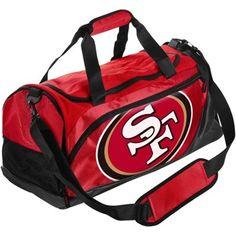San Francisco 49ers Small Locker Room Duffle Bag - Scarlet