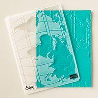 World Traveler Textured Impressions Embossing Folder by Stampin' Up! http://kimskreations.stampinup.net
