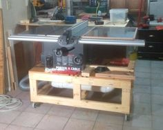 Table Saw and Future Router Station | Jays Custom Creations