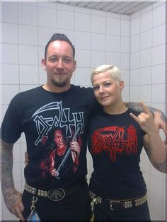 Cute couple Great Bands, Cool Bands, Hard Rock, Cute Couples, Heavy Metal, Dna, Hot Guys, Graphic Sweatshirt, American