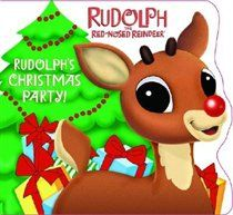 "Rudolph""s Christmas Party!. IT""S CHRISTMASTIME AND Rudolph is throwing a surprise party for Santa! Join Rudolph as he hangs up the garland, bakes the Christmas cake, and lights up the Christmas tree! Little ones will love.. Price: $4.99"
