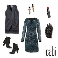 For an ultra-polished look, pair the Noel Dress with the Drafting Vest. Don't forget a pair of gloves for those extra cold nights!
