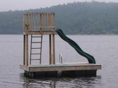 MARITIME DOCKS LTD. specializes in the design and construction of floating dock systems. From private cottage docks to full scale commercial marinas, we can supply all of your floating dock needs. Lake Dock, Boat Dock, Haus Am See, Floating Dock, Lakefront Property, Lake Cottage, Lakeside Cottage, Lake Cabins, River House