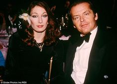 Love of his life: Jack's infidelity ended his relationship with Anjelica but…