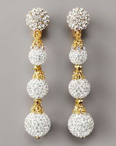 JOSE AND MARIA BARRERA JEWELRY NORDSTOM | Jose & Maria Barrera Pave Drop Earrings, Clear Sold Out thestylecure ...