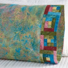 Fabric: Marblehead by Ro Gregg for Paintbrush Studio. Pillowcase Pattern 22.