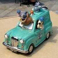 Wallace and Gromit van teapot