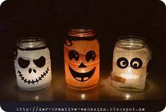 Last Minute Halloween Deko und ein Gewinner - Der kreative Wahnsinn