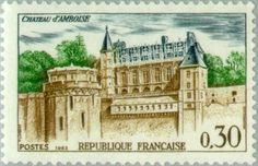 Sello: Castle Amboise (Francia) (Tourism) Yt:FR 1390,Mi:FR 1444,Sn:FR 1068