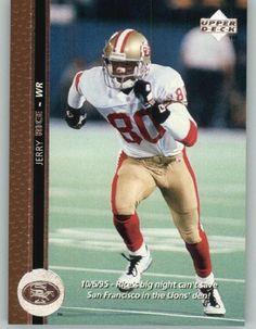 927e77791ec 1996 Upper Deck  60 Jerry Rice - San Francisco 49ers (Football Cards) by  Upper Deck.  1.23. 1996 Upper Deck  60 Jerry Rice - San Francisco 49ers  (Football ...