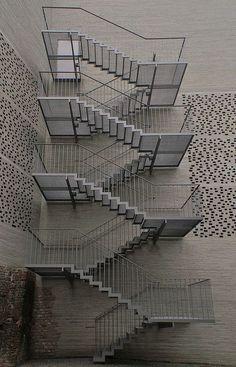 firescape stairs interior