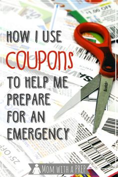 Mom with a PREP | Build a Better Pantry: How I Use #Coupons to Help Me Prepare for Emergencies #foodstorage