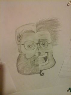 Drew robin williams as four charchters he played